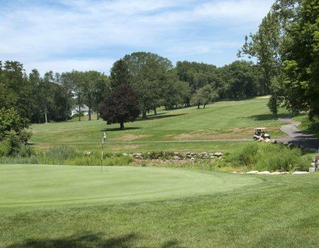 Challenging golf